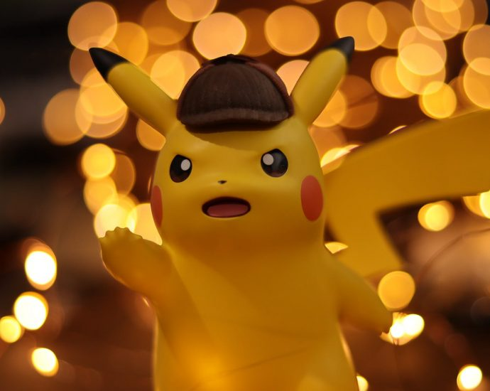 close up photo of pokemon pikachu figurine